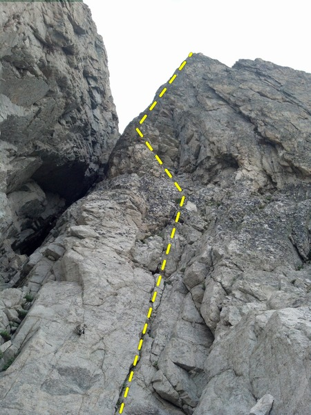 """The first pitch of """"Ping Ridge""""."""