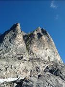 Rock Climbing Photo: The lower part of Ping Ridge.