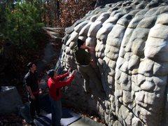 Rock Climbing Photo: Bum Boy, so typical