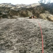 Rock Climbing Photo: 2nd pitch of Hitchhiker
