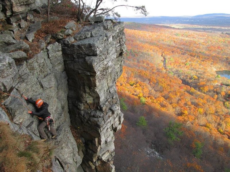 Rock Climbing Photo: Maria, Gunks, NY