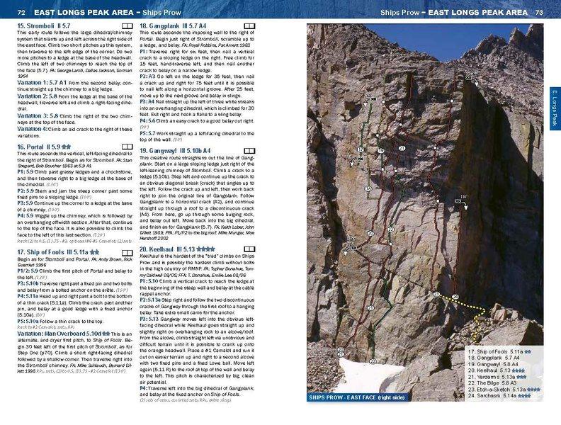 Rock Climbing Photo: RMNP Ships Prow