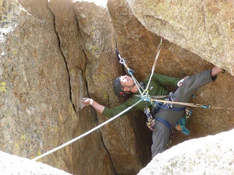 Rock Climbing Photo: Cave exit