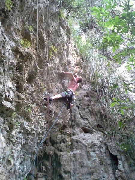 Rock Climbing Photo: Shark attack!