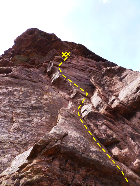 Rock Climbing Photo: The lower Scolex.