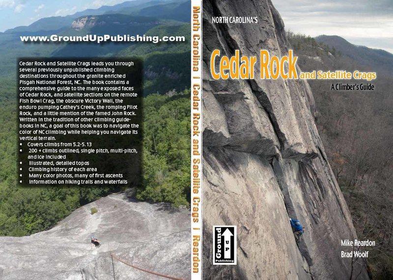 A link to the Cedar Rock guide book: www.grounduppublishing.com