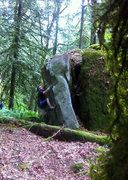 Rock Climbing Photo: Setting up..