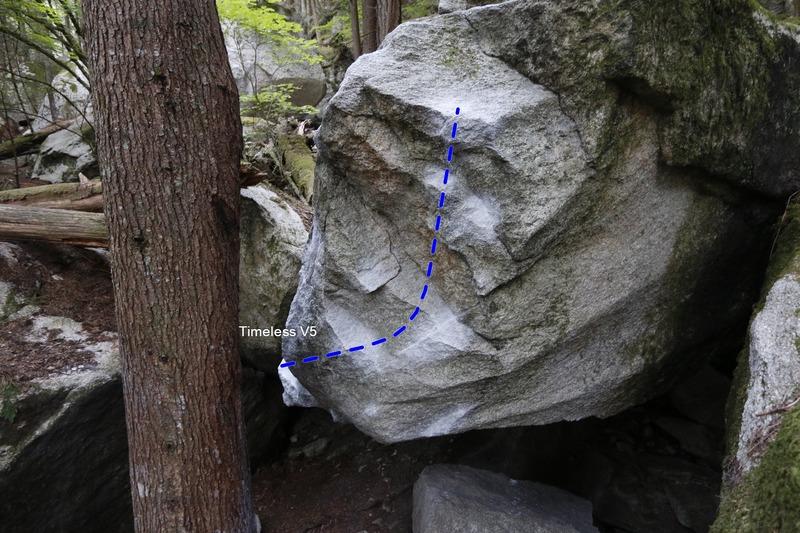 Rock Climbing Photo: Timeless V5
