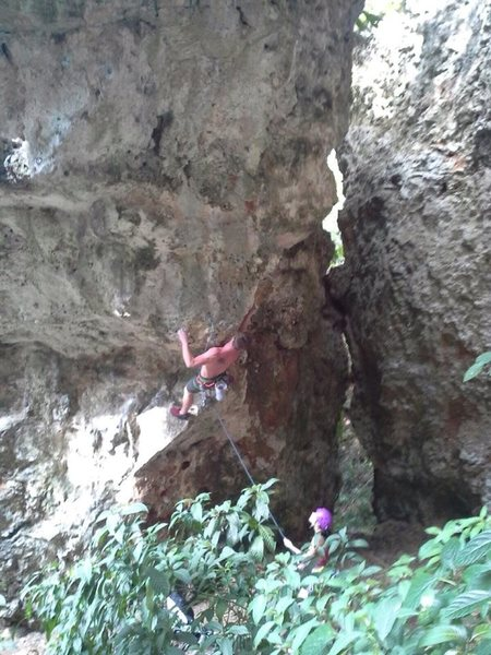 Rock Climbing Photo: Climbs to the left of this picture