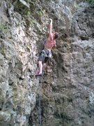 Rock Climbing Photo: Jug!