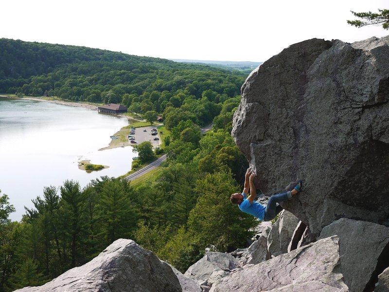 Rock Climbing Photo: Satermo on Veruca.