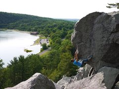 Rock Climbing Photo: Satermo on Veruca.