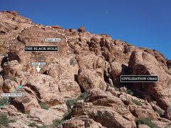 Rock Climbing Photo: The Black Hole location beta. Cheers. (best viewed...