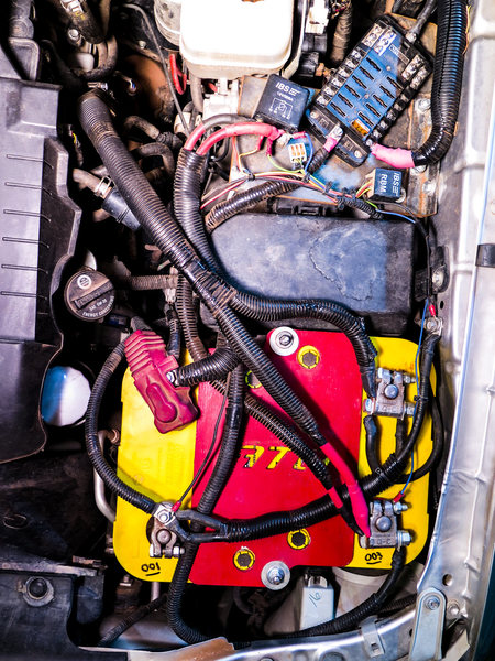 Dual battery system for 2011 Tacoma.