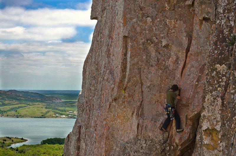 Rock Climbing Photo: Me on Teacup, 2013