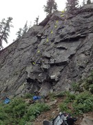 Rock Climbing Photo: Brand spanking new. (Brian Pappas just finished bo...