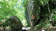 Rock Climbing Photo: Bouldering in Larraona