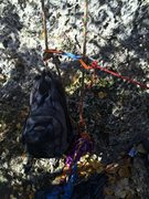 Weighted rope ends for tr soloing
