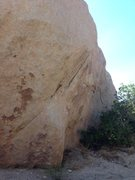 Rock Climbing Photo: Here's another view of the same roadside Boulder i...