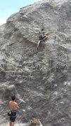 Rock Climbing Photo: Friend Julian at second clip