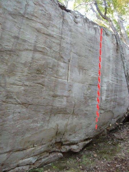 Rock Climbing Photo: Cheese Grater