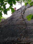 Rock Climbing Photo: Nice climbing.