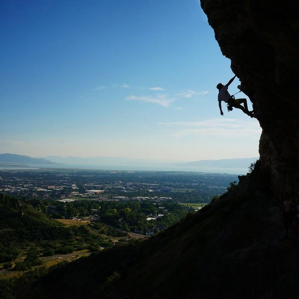 Rock Climbing Photo: First 5 or so bolts are easier than it gets more d...
