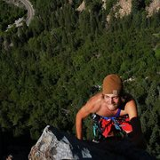 Rock Climbing Photo: Great exposure, pro is a bit more spread out on th...