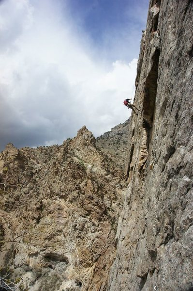 Best 5.10a in rock canyon