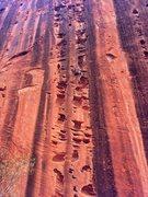 Rock Climbing Photo: Jugs everywhere!!!