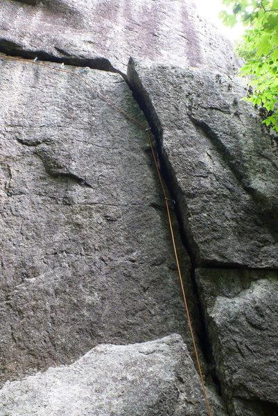 Rock Climbing Photo: Limace, Start