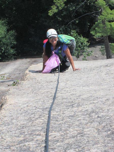 Rock Climbing Photo: Wheat Thin Arete