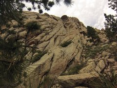 enjoying wyoming solitude, solid granite, sun and exposure