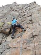 Rock Climbing Photo: Phyllie on FA