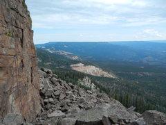 Rock Climbing Photo: Your view