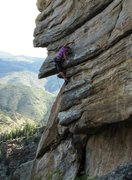 Rock Climbing Photo: The coolest move on the wall is this mantel from a...