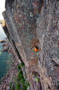 Rock Climbing Photo: Nate Erickson on Lord of the Flies. July 4th, 2015...