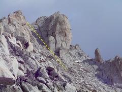 Rock Climbing Photo: The NW Chute.