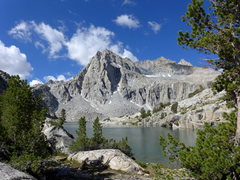 Rock Climbing Photo: Hungry Packer Lake and Picture Peak