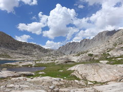 Rock Climbing Photo: on the JMT with Darwin, Mendel and 13,360 on the r...