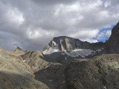 Rock Climbing Photo: Mt Darwin/Darwin Glacier from Darwin Canyon