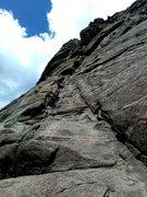 Rock Climbing Photo: The Staircase, Arch Rock, 11 Mile Canyon