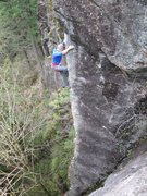 Rock Climbing Photo: Lay of the Land 12a