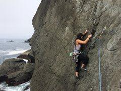 Rock Climbing Photo: promontory
