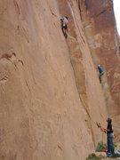 Rock Climbing Photo: Jesses first trad climb two years prior, a 5.9 at ...