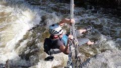 Rock Climbing Photo: Looking upstream.