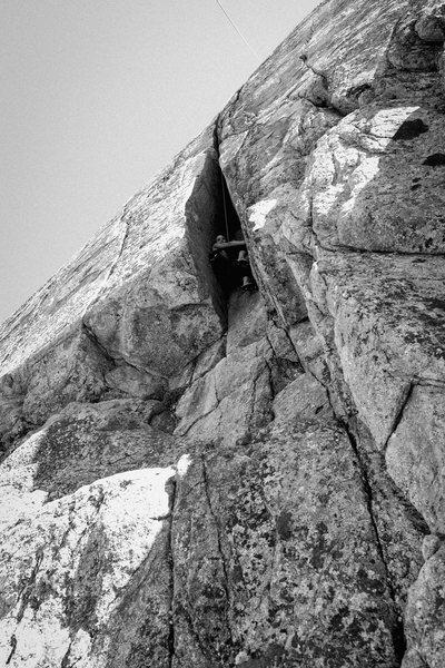 Rock Climbing Photo: Bottomless Topless.