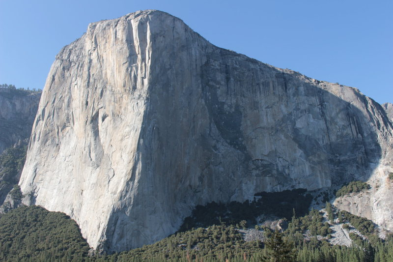 El Capitan in all its splendor.  A NIAD attempt was missing in preparation for the link-up.