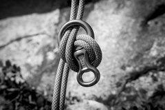Rock Climbing Photo: After the drop.