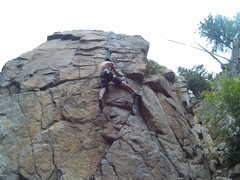 Rock Climbing Photo: I top roped this route with a few friends new to c...